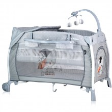 LORELLI CLASSIC Кошара 2 нива iLOUNGE ROCKER GREY COOL CAT 1008002/1939