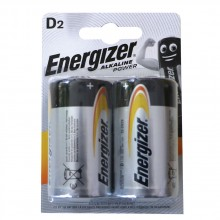 ENERGIZER Батерии ALKALINE POWER АЛКАЛНИ D (2 БР.)