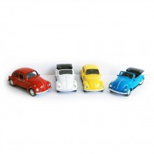 TTOYS WELLY Метална кола BEETLE CABRIO 21513