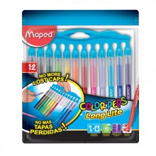 Арго Maped флумастери Color'Peps Long Life Innovation 12 цвята комплект 9845045
