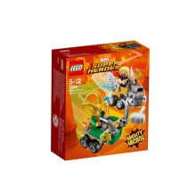 LEGO SUPER HEROES Mighty Micros: Thor срещу Loki 76091
