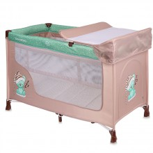 LORELLI CLASSIC Кошара на 2 нива SAN REMO BEIGE&GREEN SLEEPING BEAR 1008007/1802