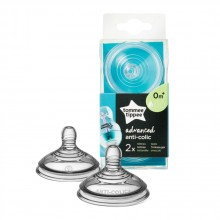 TOMMEE TIPPEE Биберон 1 капка 0+ ANTI-COLIC+SLOW 42102651