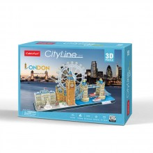 CubicFun 3D Пъзел CITY LINE LONDON MC253h