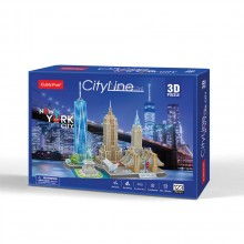 CubicFun 3D Пъзел CITY LINE NEW YORK CITY MC255h