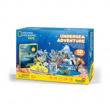 CubicFun 3D Пъзел ПОДВОДНО ПРИКЛЮЧЕНИЕ NATIONAL GEOGRAPHIC KIDS DS0974h