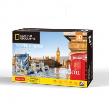 CubicFun 3D Пъзел TOWER BRIDGE NATIONAL GEOGRAPHIC DS0978h