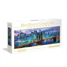 CLEMENTONI Пъзел HQ COLLECTION PANORAMA NEW YORK BROOKLYN BRIDGE 39434