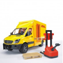 BRUDER Микробус DHL MERCEDES BENZ 02534