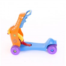 KIKKA BOO Комбиниран ride-on 2в1 BABY WALKER BLUE/ORANGE 31006030022