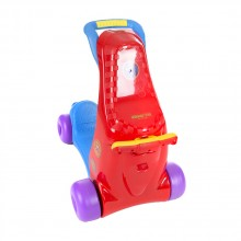 KIKKA BOO Комбиниран ride-on 2в1 BABY WALKER RED/BLUE 31006030023