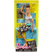 BARBIE FAB CORE DOLLS & ACCESS Кукла йога FTG80