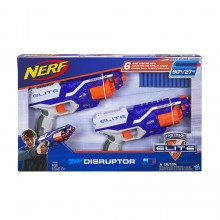 NERF Бластер 2 бр. N-STRIKE ELITE DISRUPTOR C2544