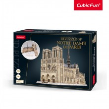 CubicFun 3D Пъзел NOTRE DAME DE PARIS MASTER COLLECTION MC260H