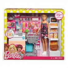 "BARBIE ESTATE FURNITURE Комплект за игра с кукла ""СУПЕРМАРКЕТ"" FRP01"