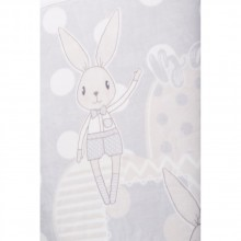 KIKKABOO Много меко зимно одеяло 110/140 см. RABBITS GREY 31103020059