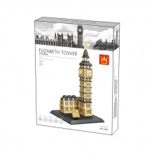WANGE Конструктор BIG BEN ELIZABETH TOWER 1805K1281/4211