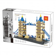 WANGE Конструктор THE TOWER BRIDGE 1805K1287/5215