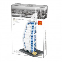 WANGE Конструктор THE BURJAL ARAB 1805K1290/5220