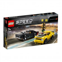 LEGO SPEED CHAMPIONS 2018 Dodge Challenger SRT Demon и 1970 Dodge Charger R/T 75893