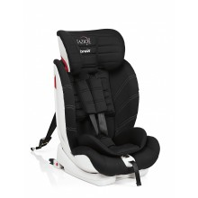 BREVI Стол за кола 9-36 кг. TAZIO TT ISOFIX TOTAL BLACK 259