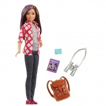 BARBIE I CAN BE TRAVEL Кукла SKIPPER FWV17