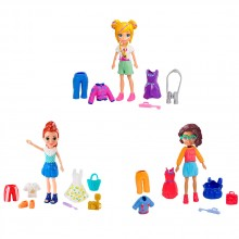 POLLY POCKET GO TINY Кукла с тоалети GDM01