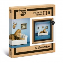 CLEMENTONI Пъзел FRAME THE MASTER OF THE HOUSE 38500