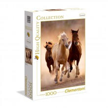 CLEMENTONI Пъзел HQ COLLECTION RUNNING HORSES 39168