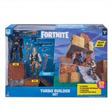 JW FORTNITE Крепост с фигури JONESY&RAVEN TURBO BUILDER FNT0036
