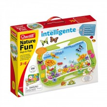 QUERCETTI Мозайка 316 части NATURE FUN BUGS AND PEGS 968