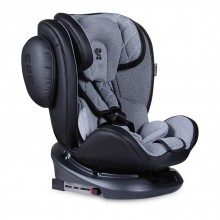 LORELLI PREMIUM Стол за кола 0-36 кг. AVIATOR ISOFIX 360° BLACK + LIGHT GREY 1007130/1901