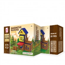 MAGNETIC BLOCKS Конструктор 39 части HOUSE КАФЯВ OTG0903359