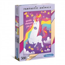 CLEMENTONI Пъзел FANTASTIC ANIMALS ЕДНОРОГ 35066