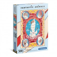 CLEMENTONI Пъзел FANTASTIC ANIMALS ЛАМА 35069