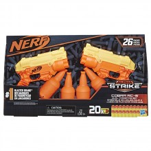 NERF ALPHA STRIKE Бластер 2 бр. COBRA RC-6 E7565