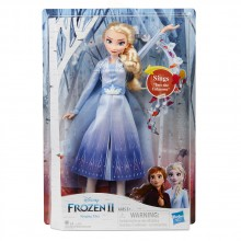 DISNEY FROZEN II Кукла ПЕЕЩА ЕЛЗА E6852