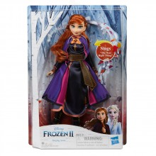 DISNEY FROZEN II Кукла ПЕЕЩА АННА E6853