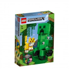 LEGO MINECRAFT BigFig Creeper™ и оцелот 21156