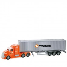 City Service Камион контейнер Container Truck 1:50 1810A345