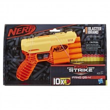 NERF Бластер ALPHA STRIKE FANG QS 4 E6973