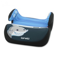 LORELLI Стол за кола - седалка 15-36 кг. TOPO COMFORT SHARK LIGHT&DARK BLUE 1007099/2004