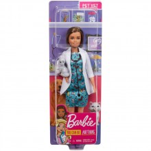 BARBIE YOU CAN BE Кукла ветеринарен лекар GJL57