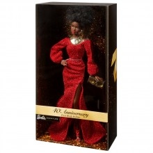 BARBIE GOLD LABEL Тъмнокожа кукла 40TH ANNIVERSARY GLG35