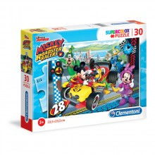 CLEMENTONI 30ч. Пъзел Mickey and the Roadster Racers 8514