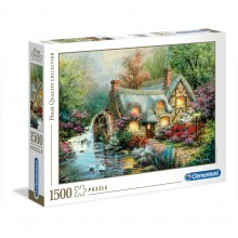 CLEMENTONI 1500ч. Пъзел Country Retreat 31812