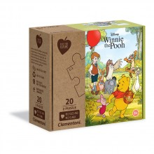 CLEMENTONI 2x20ч. Play For Future Пъзел Whinnie The Pooh 24772