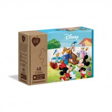 CLEMENTONI 3x48ч. Play For Future Пъзел Mickey Mouse 25256
