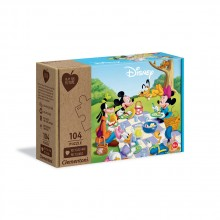 CLEMENTONI 104ч. Play For Future Пъзел Mickey Mouse 27153