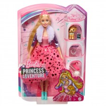 BARBIE PRINCESS ADVENTURES Кукла принцеса  GML76